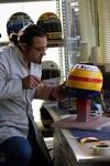 Bigood peinture sur casque